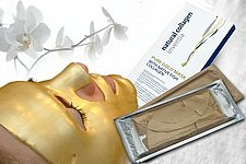 Pure Gold Mask With Native Fish Collagen - 3 pcs